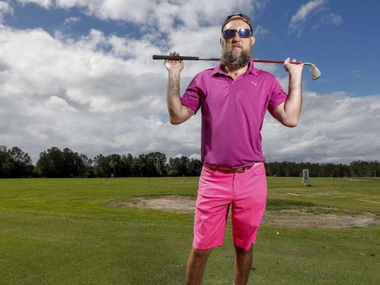 Qld blind golfer Glenn Niciejewski