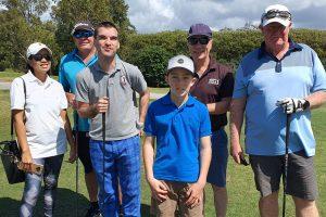 Blind golf Ambrose teams games at Parkwood